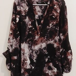 Simply Vera flowy, mauvy blouse